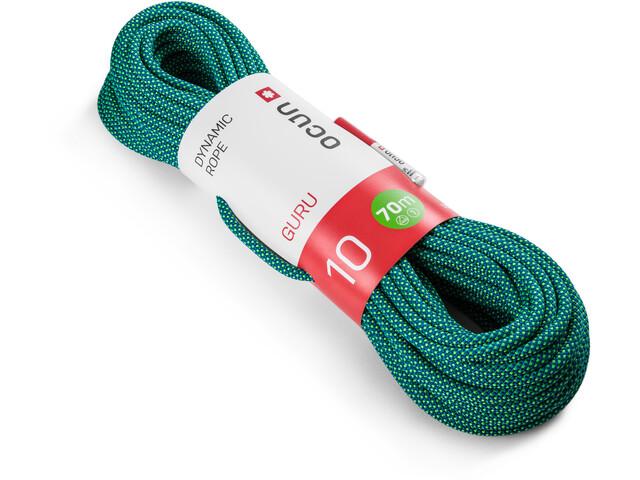 Ocun Guru Rope 10mm x 70m, azul/verde